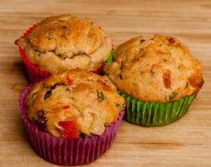 Tomaten-Mozarella-Muffins