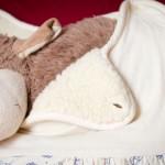 Im Test: Bio Winter Babyschlafsack Bobo mit Lammflor-Futter